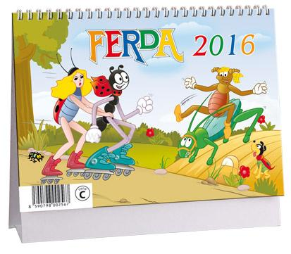 Stolní kalendář 2016 Ferda