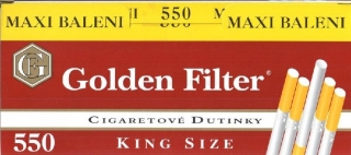 Dutinky Golden Filters 550 ks