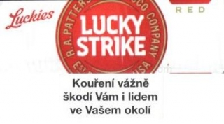 Lucky strike red soft pack