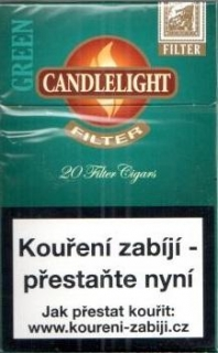 Candlelight Filter Green 20ks