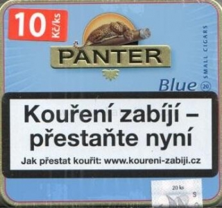 Panter blue cigarillos 20ks