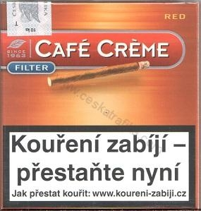 Café Créme Filter red 10 ks