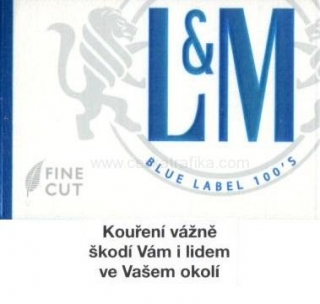 L&M blue label 100 T
