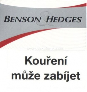 Benson & Hedges white