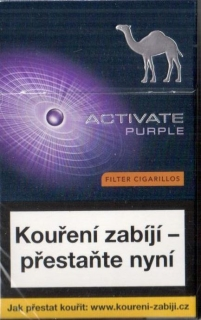 Camel purple activate cigarillo (doutníčky)