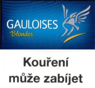 Gauloises Blondes Blue T
