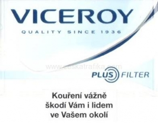 Viceroy white PLUS filter