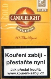 Candlelight Filter Gold 20ks