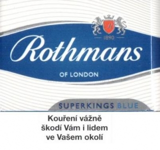 Rothmans superkings blue 100