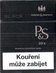 P&S black bib box 23ks T
