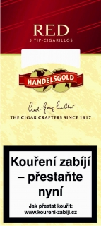 Handelsgold Red Tip cigarillos 5 ks