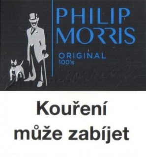 Philip Morris original black 100