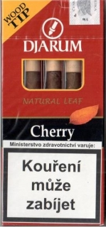Doutníky Djarum Wood Tip Cherry 5 ks