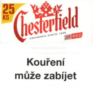 Chesterfield red XL 25