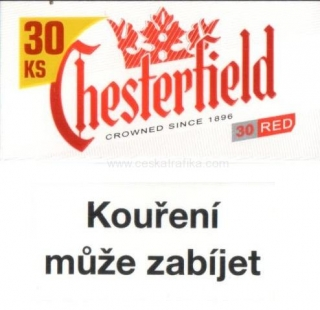Chesterfield red XXL 30