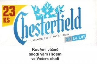 Chesterfield blue XL 25