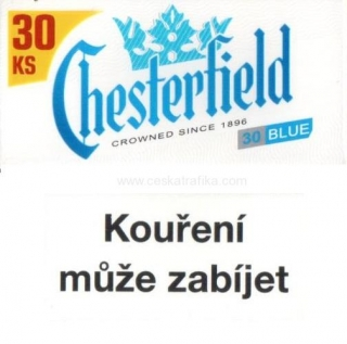 Chesterfield blue XXL 30